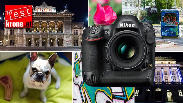 Ein Biest von einer Kamera: Nikons D4S im Test (Bild: Nikon, Andreas Graf)