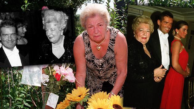 Falcos Mama Maria Hölzel mit 87 Jahren verstorben (Bild: Klemens Groh, Kristian Bissuti, krone.at-Grafik)