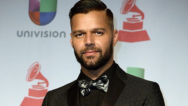 "Latino-Star Ricky Martin kommt zum ""Life Ball"" (Bild: APA/EPA/MICHAEL NELSON)"