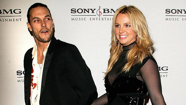 Britney Spears und Kevin Federline: Die Ehe hielt von 2004 bis 2007. (Bild: AP Photo/Chris Polk)