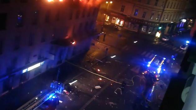Ein Todesopfer bei Brand in Wiener Innenstadt (Bild: Screenshot Youtube.com)