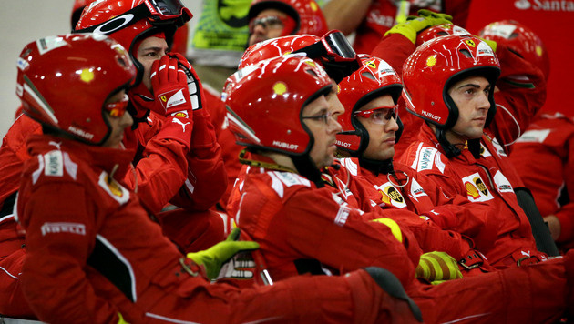 Ferrari schraubt Ansprüche herunter (Bild: AP)