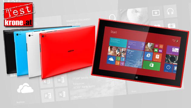 Nokia Lumia 2520: Der Finnen erstes Tablet im Test (Bild: Nokia, krone.at-Grafik)