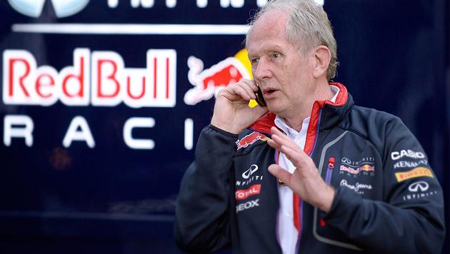 Red Bull kontert Spielberg-Vorwürfe von Mercedes (Bild: APA/HANS KLAUS TECHT, krone.at-Grafik)