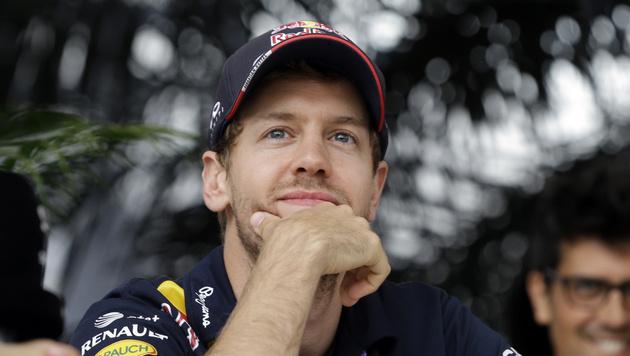 Sebastian Vettel hat die WM noch nicht abgehakt (Bild: AP)