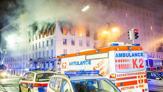 Bei der Explosion in der Wiener Innenstadt kam eine 23-Jährige ums Leben. (Bild: APA/ROBERT TOBER)