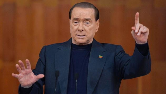 """""""Dieses Referendum ist gefährlich für die Demokratie"""": Ex-Premier Silvio Berlusconi (Bild: EPA)"""