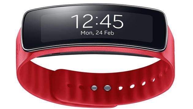 Fitness-Coach fürs Handgelenk: Gear Fit im Test (Bild: Samsung)