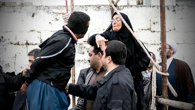 Iran: 20 Männer an einem Tag gehängt (Bild: AFP (Symbolbild))