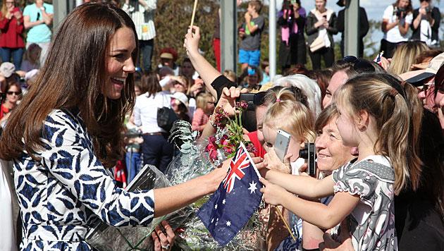 Kates Australien-Kleid bricht alle Verkaufsrekorde (Bild: AP)