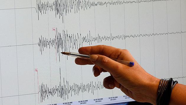 Schweres Erdbeben vor Südpazifikstaat Vanuatu (Bild: APA/Georg Hochmuth (Symbolbild))