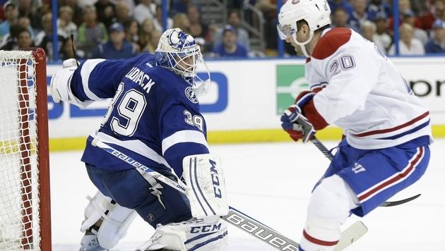 Vanek trifft bei Montreals 5:4-Auswärtssieg (Bild: AP)