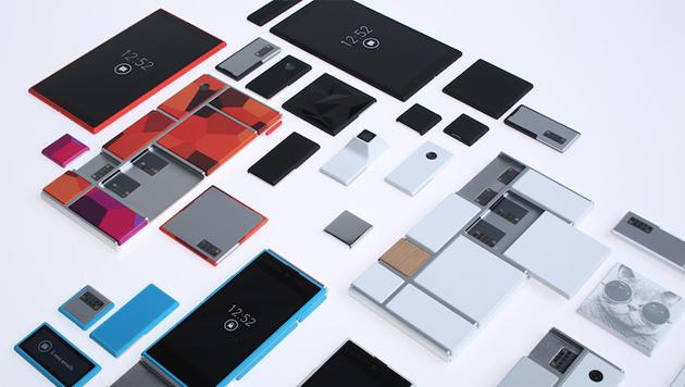 """Aus für modulares Smartphone """"Project Ara"""" (Bild: Google)"""