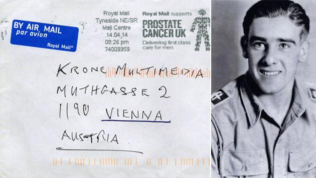 """Britischer Ex-Soldat sucht """"seine Vera"""" in Wien (Bild: """"Krone"""")"""