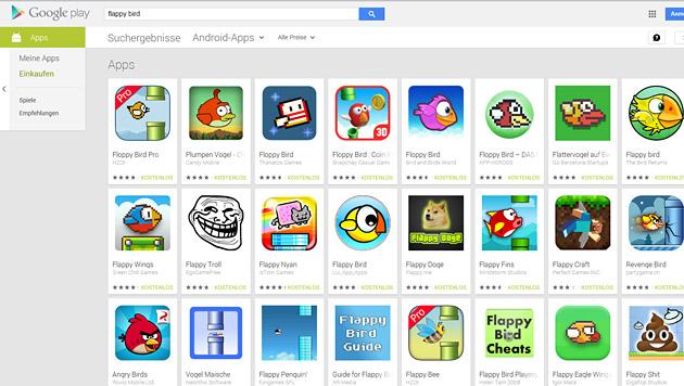 Klonen von Handy-Apps verspricht schnelles Geld (Bild: Screenshot Google Play)