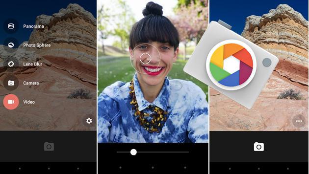 Spiegelreflex-Feeling mit Googles neuer Kamera-App (Bild: Play Store, krone.at-Grafik)