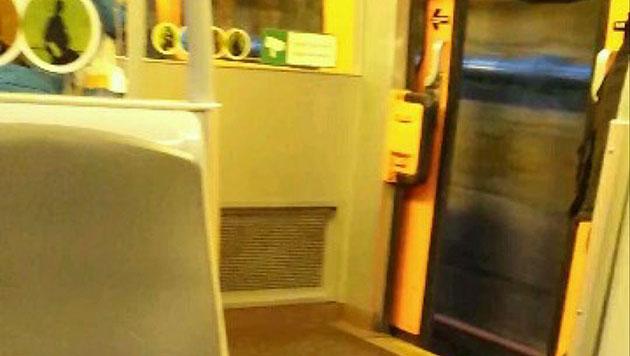 Wien: U-Bahn-Tür stand bei voller Fahrt offen (Bild: privat)