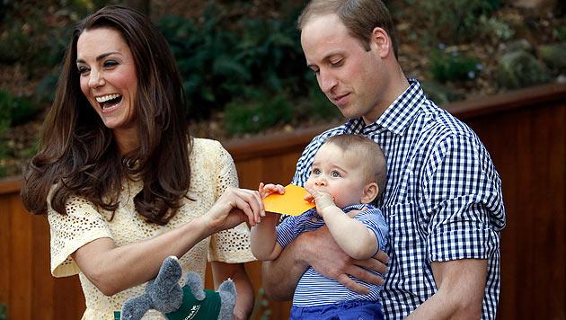 Prinz George: Erstmals Details über seinen Alltag (Bild: AP)
