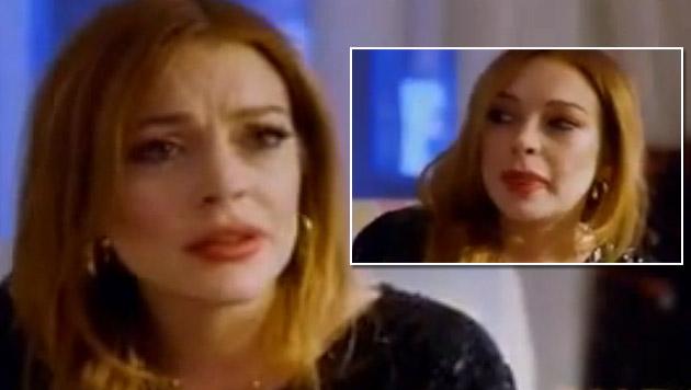 """Lindsay Lohan: """"Ich hatte eine Fehlgeburt"""" (Bild: YouTube.com)"""