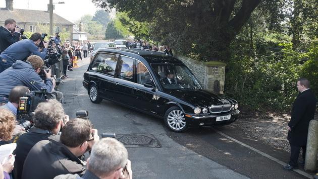 Trauerfeier in Kent: Abschied von Peaches Geldof (Bild: APA/EPA/WILL OLIVER)