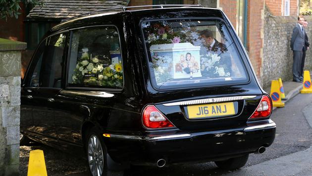 Trauerfeier in Kent: Abschied von Peaches Geldof (Bild: AP)