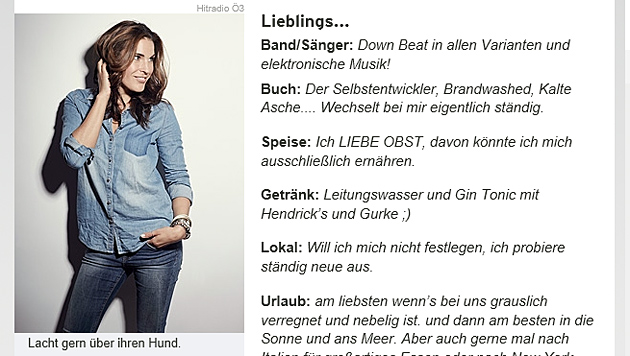 Ö3-Moderatorin entschuldigt sich für Lästerattacke (Bild: Screenshot/oe3.orf.at)