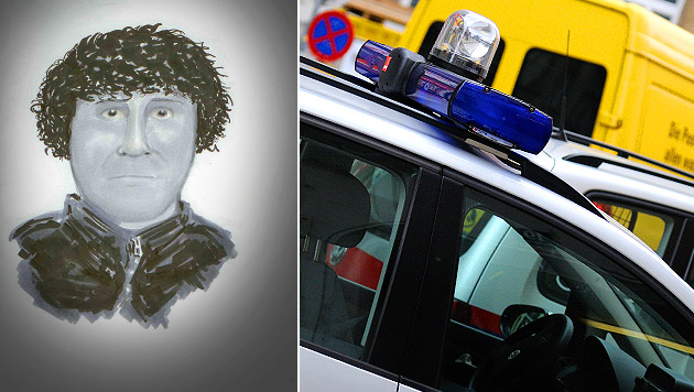 Serienräuber schlug in Wien zum vierten Mal zu (Bild: Polizei, Andreas Graf, krone.at-Grafik)