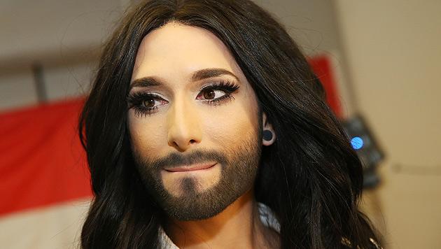 Conchita schafft's als Topstory auf US-Newsseite (Bild: Peter Tomschi)