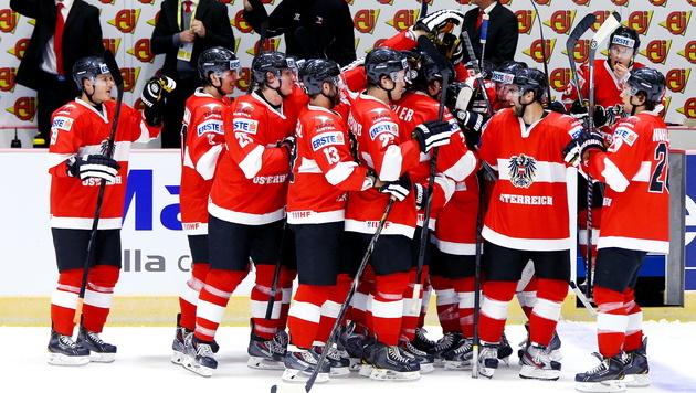 Eishockey-Team besiegt bei B-WM auch Südkorea (Bild: APA/EPA/KIM SOO-HAN)