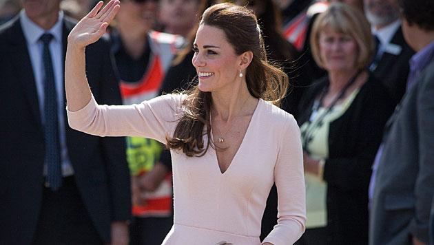 Kate macht auch als DJane eine gute Figur (Bild: AP)