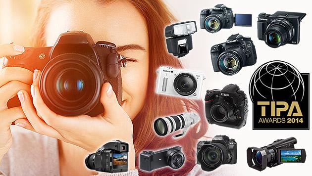 Die besten Kameras fürs kleine und große Börserl (Bild: Hersteller, thinkstockphotos.de, krone.at-Grafik)