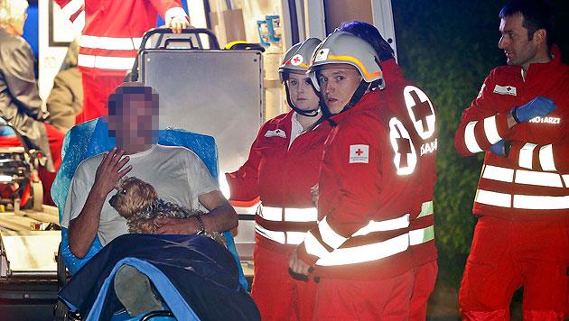 Feuer in Wohnblock: Betagte Frau starb in Flammen (Bild: Markus Tschepp)