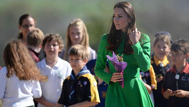 Kate und William auf Australien-Tour (Bild: AP)