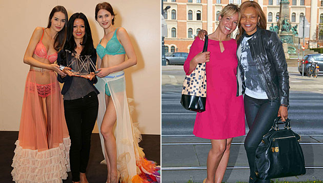 Naomi Campbells Mama ist Wien-Fan (Bild: Alexander Tuma)