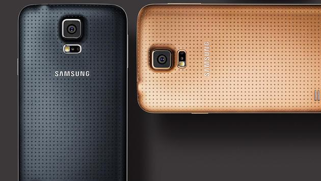 Samsung soll an verbessertem Galaxy S5 arbeiten (Bild: Samsung)