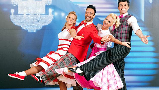 """Dancing Stars"": Kein Paar musste gehen (Bild: ORF/Hans Leitner)"