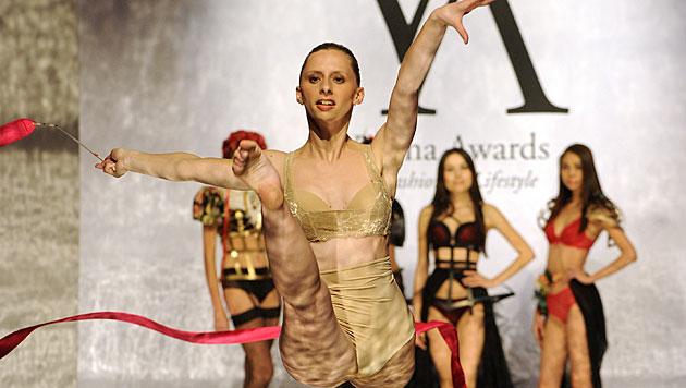 """Vienna Awards"" im MAK mit Hunziker und Trussardi (Bild: APA/HERBERT PFARRHOFER)"