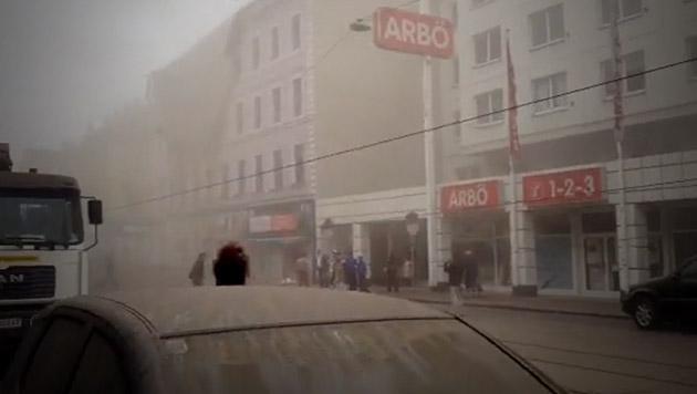 Frau überlebte 8 Stunden unter Trümmern, Mann tot (Bild: facebook.com/teduardus)