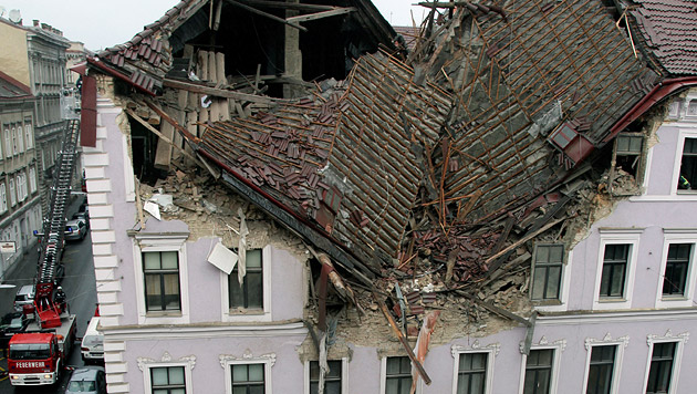 Wien: Aus Liebeskummer Haus in die Luft gesprengt (Bild: APA/FOTOSTUDIO ROBERT MICHAEL SC)