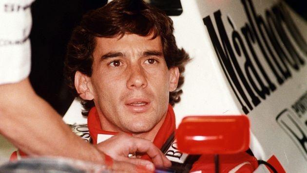 Imola gedenkt der Tode von Senna und Ratzenberger (Bild: APA/ANSA)