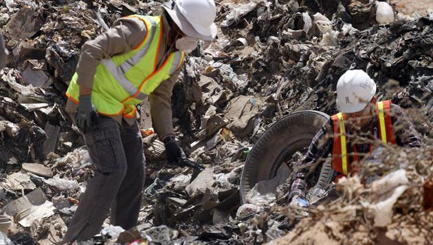 """Verschollene """"E.T.""""-Spiele auf Müllhalde gefunden (Bild: AP)"""