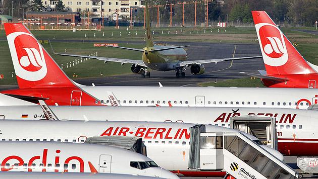 """Krankmeldungen: """"Piloten-Revolte"""" bei Air Berlin (Bild: AP)"""