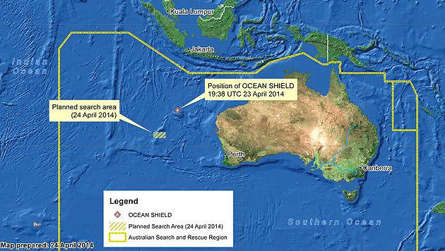 Flug MH370: Vermutlich weiteres Wrackteil gefunden (Bild: AP)