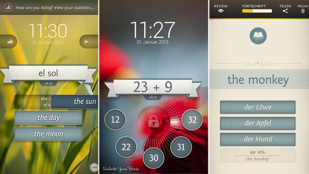 Android-App trainiert beim Entsperren das Gehirn (Bild: Google Play Store)