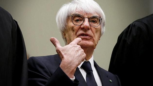 Bernie Ecclestone ersparte sich Milliardenbetrag (Bild: AP)