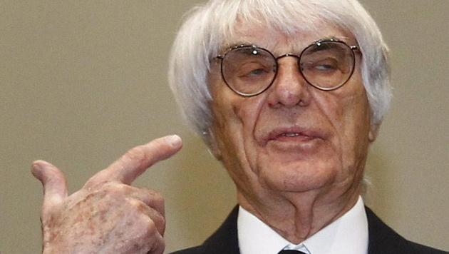 Ecclestone-Anwälte werfen Zeugen vor, zu lügen (Bild: EPA)