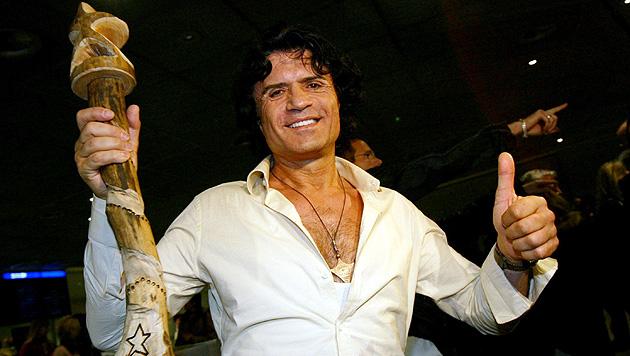 2004 gewann Costa Cordalis das RTL-Dschungelcamp. (Bild: dpa/Frank May)