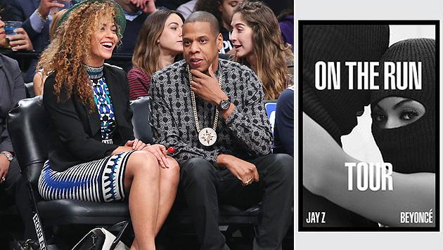 Beyonce und Jay-Z gehen gemeinsam auf US-Tour (Bild: AP, Instagram.com)
