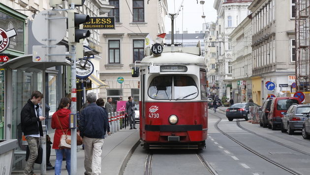 Erneut Straßenbahnfahrer in Wien angegriffen (Bild: Martin A. Jöchl)