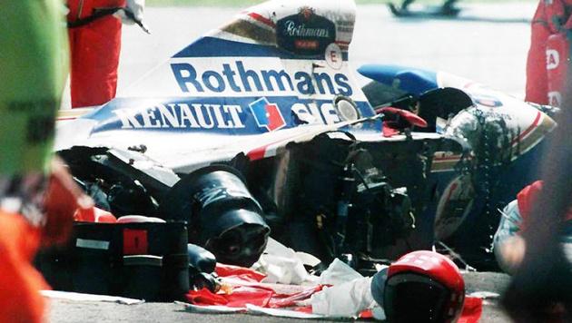 """Newey zu Senna-Unfall: """"Habe mich verrechnet"""" (Bild: APA/EPA/JEAN-LOUP GAUTREAU)"""